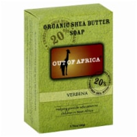Out Of Africa Verbena Pure Shea Butter Bar Soap