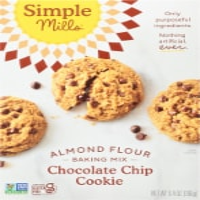 Simple Mills Gluten Free Chocolate Chip Cookie Almond Flour Mix