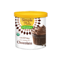 Simple Mills Organic Coconut Oil Chocolate Frosting