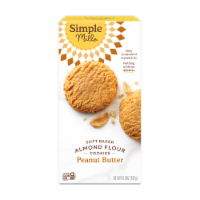 Simple Mills Soft Baked Peanut Butter Cookies