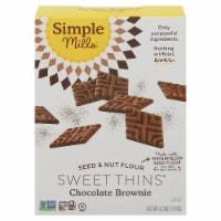 Simple Mills® Chocolate Brownie Sweet Thins - 4.25 oz