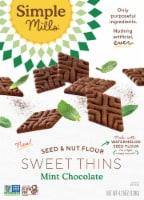 Simple Mills® Chocolate Mint Sweet Thins - 4.25 oz