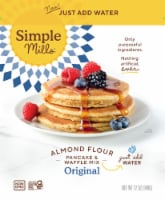 Simple Mills Just Add Water Original Pancake and Waffle Almond Flour Mix