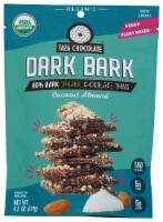 Taza Chocolate Dark Bark Coconut Almond Organic Dark Chocolate Thins - 4.2 oz