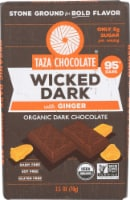 Taza Chocolate Wicked Dark with Ginger Organic Dark Chocolate - 2.5 oz