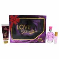 Cosmo Designs Love Struck 3.4oz EDT Spray, 0.27oz Perfume Roll On, 1.7oz Body Lotion 3 Pc Gif - 3 Pc Gift Set