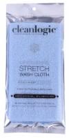 Cleanlogic Exfoliating Stretch Wash Cloth - 1 ct