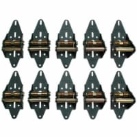 Green Hinge System Steel Commercial Garage Door Hinge - Case Of: 1; Each Pack Qty: 10; Total - Count of: 1