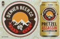 Denver Beer Co. Pretzel Assassin Amber Lager