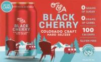 Denver Beer Co. O&A Black Cherry Craft Hard Seltzer - 6 cans / 12 fl oz