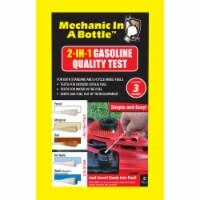 Mechanic In A Bottle Gasoline Test Swab 3 pk - Case Of: 12; - Case of: 12