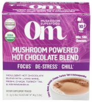 Om Mushroom Powered Hot Chocolate Packets