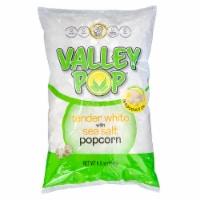 Valley Popcorn Tender White Sea Salt Popcorn - 6.5 oz