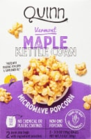 Quinn Vermont Maple Kettle Corn Microwave Popcorn