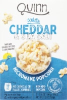 Quinn White Cheddar & Sea Salt Microwave Popcorn
