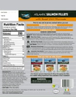Next Wave Seafood Salmon Fillets with Sweet Chili Marinade - 4 ct / 4.5 oz