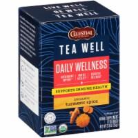 Celestial Seasonings Tea Well Turmeric Spice Herb Tea