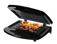 Chefman Compact Electric Contact Grill & Sandwich Maker - Black - 1 ct