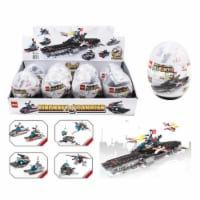 Diamond Visions 9048222 Dr. Star Aircraft Carrier Building Block Plastic - Pack of 8 - 1