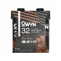 OWYN 100% Vegan Pro Elite Chocolate Protein Shakes - 4 ct / 11.15 fl oz