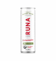 Runa Zero Watermelon Clean Energy Drink