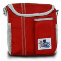 Sailor Bags Lunch Bag  True Red with Grey Trim