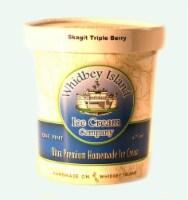 Whidbey Island Skagit Triple Berry Ice Cream - 16 fl oz