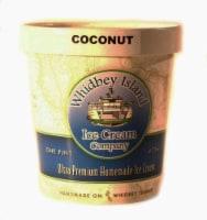 Whidbey Island Coconut Ice Cream - 16 fl oz