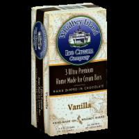 Whidbey Island Vanilla Ice Cream Bars - 3 ct / 3 fl oz