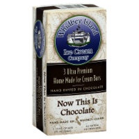 Whidbey Island Now This Is Chocolate Ice Cream Bars - 3 ct / 3 fl oz