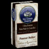 Whidbey Island Peanut Butter Ice Cream Bars - 3 ct / 3 fl oz