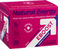 EBOOST Green Tea/Green Coffee Energy Packets
