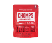 Chomps Chomplings Mild Original Beef Mini Sticks 6 Count