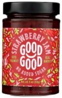 Good Good No Added Sugar Strawberry Jam - 12 oz