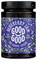 Good Good No Added Sugar Blueberry Jam - 12 oz