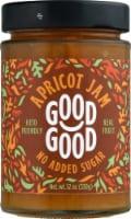 Good Good No Added Sugar Apricot Jam - 12 oz