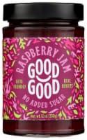 Good Good No Added Sugar Raspberry Jam - 12 oz