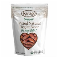 Organic Pitted dates 12/8 oz (Pouches)