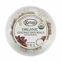 Organic Coconut Dates Rolls 12/28oz (cups)