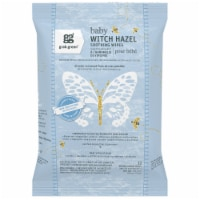 Grab Green Baby Witch Hazel Wipes - Rosewood - 32 ct