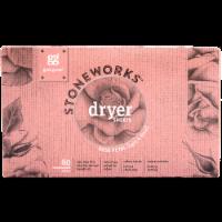 Grab Green Stoneworks Rose Petal Dryer Sheets - 80 ct