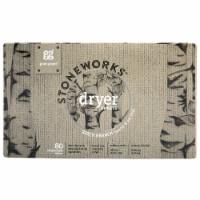 Grab Green Stoneworks Birch Branch Dryer Sheets - 80 ct