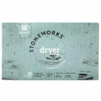 Grab Green Stoneworks Rain Fragrance Free Dryer Sheets - 80 ct