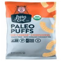 LesserEvil No Cheese Cheesiness Grain Free Paleo Puffs