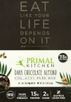 Primal Kitchen Dark Chocolate Almond Collagen Bars