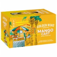Golden Road Brewing Mango Cart Wheat Ale - 6 cans / 12 fl oz