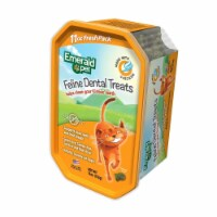 Emerald Pet 856916006144 11 oz Feline Dental Treat Tub Chicken