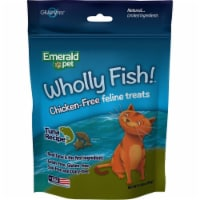 Emerald Pet Products 00642-CFT 3 oz Wholly Fish Chicken-Free Cat Treats - Tuna, Pack of 12 - 1