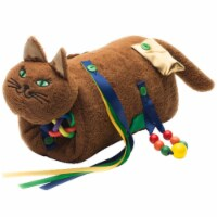Twiddle 1576227 Cat Fidget & Comfort Muff, Chocolate Brown - 1