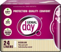 Genial Day Feminine Liners Regular